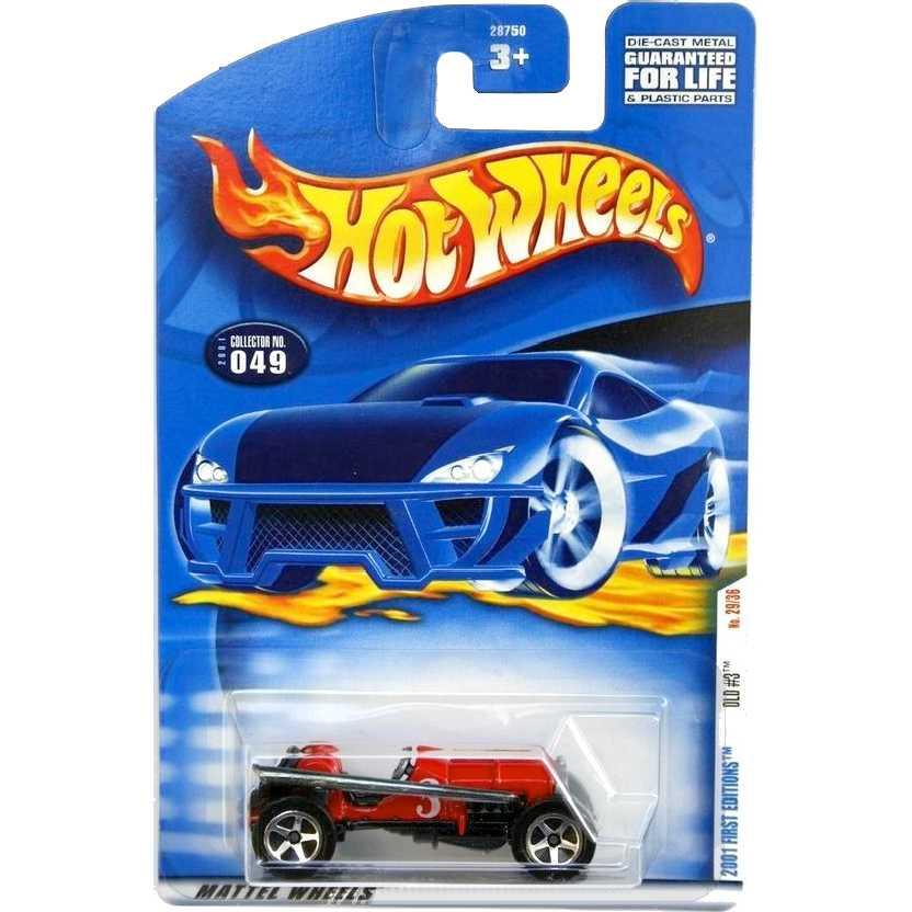 Coleção 2001 Hot Wheels Old #3 series 049 29/36 28750 escala 1/64