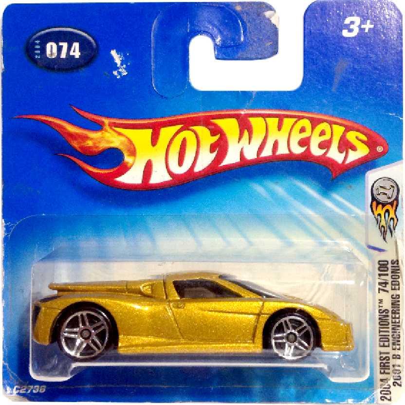 Coleção 2004 Hot Wheels 2001 B Engineering Edonis #074 C2738 escala 1/64