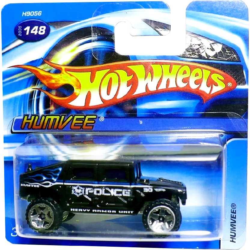 Coleção 2005 Hot Wheels Humvee Police Heavy Unit  148 H9056 escala 1 ... f4cda371b5