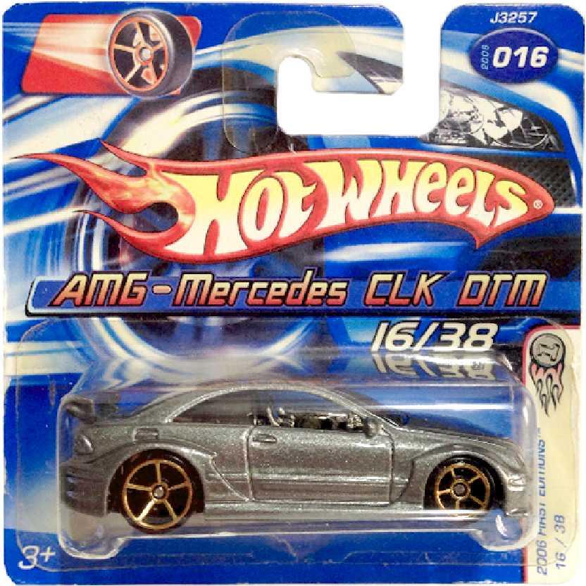 Coleção 2006 Hot Wheels AMG Mercedes CLK DTM series 16/38 J3257 escala 1/64