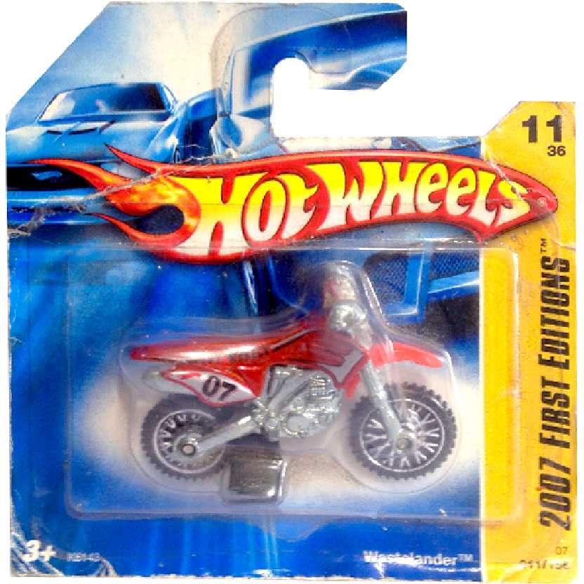 Coleção 2007 Hot Wheels Wastelander series 11/36 011/156 K6143 escala 1/64
