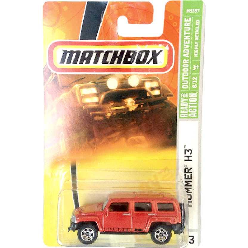 Coleção 2007 Matchbox Hummer H3 #83 8/12 M5357 escala 1/64