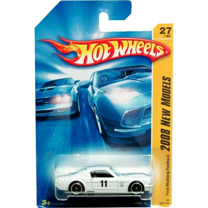 Coleção 2008 Hot Wheels Ford Mustang Fastback series 027/196 27/40 escala 1/64 L9942