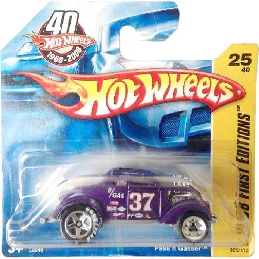 Coleção 2008 Hot Wheels Passn Gasser series 25/40 025/172 L9940 escala 1/64