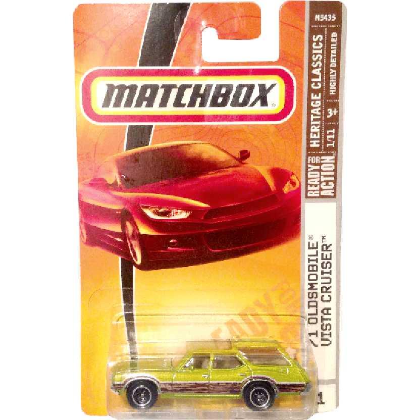 Coleção 2008 Matchbox 71 Oldsmobile Vista Cruiser series 1/11 N5435 escala 1/64
