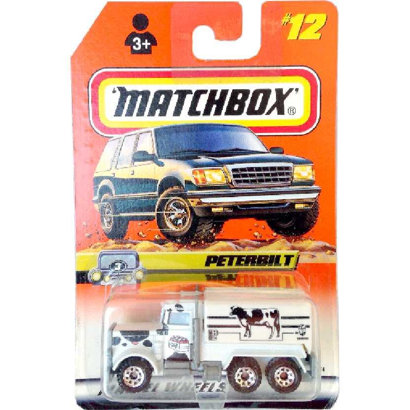 Coleção 2008 Matchbox Caminhão Peterbilt #12 36574 escala 1/64