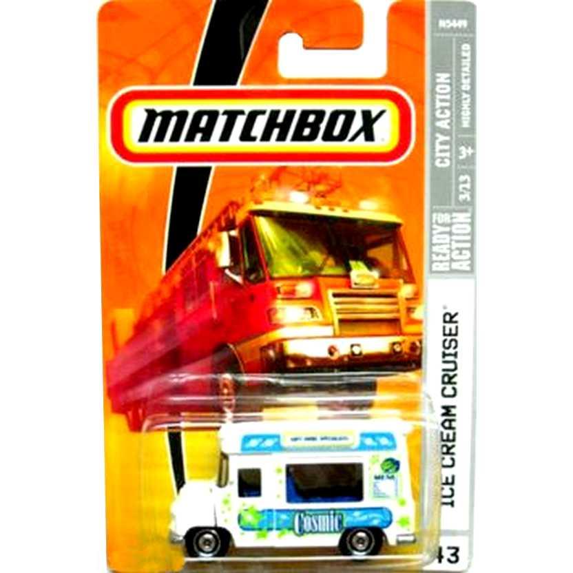 Coleção 2008 Matchbox Ice Cream Cruiser #43 escala 1/64 N5449