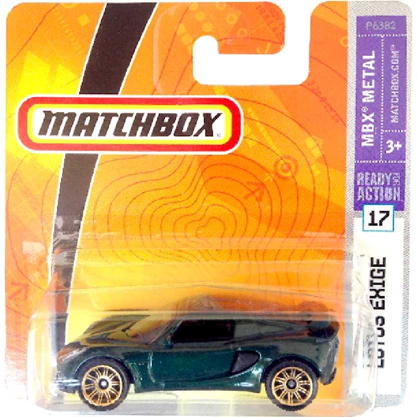 Coleção 2008 Matchbox Lotus Exige #17 P6382 escala 1/64