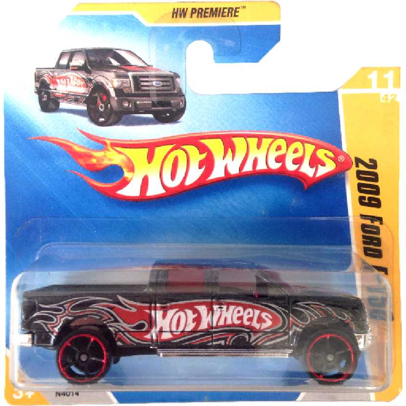 Coleção 2009 Hot Wheels 2009 Ford F-150 series 11/42 011/166 N4014 escala 1/64