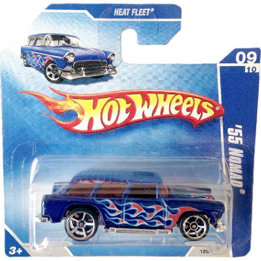 Coleção 2009 Hot Wheels 55 Nomad series 09/10 125/166 P2445 escala 1/64