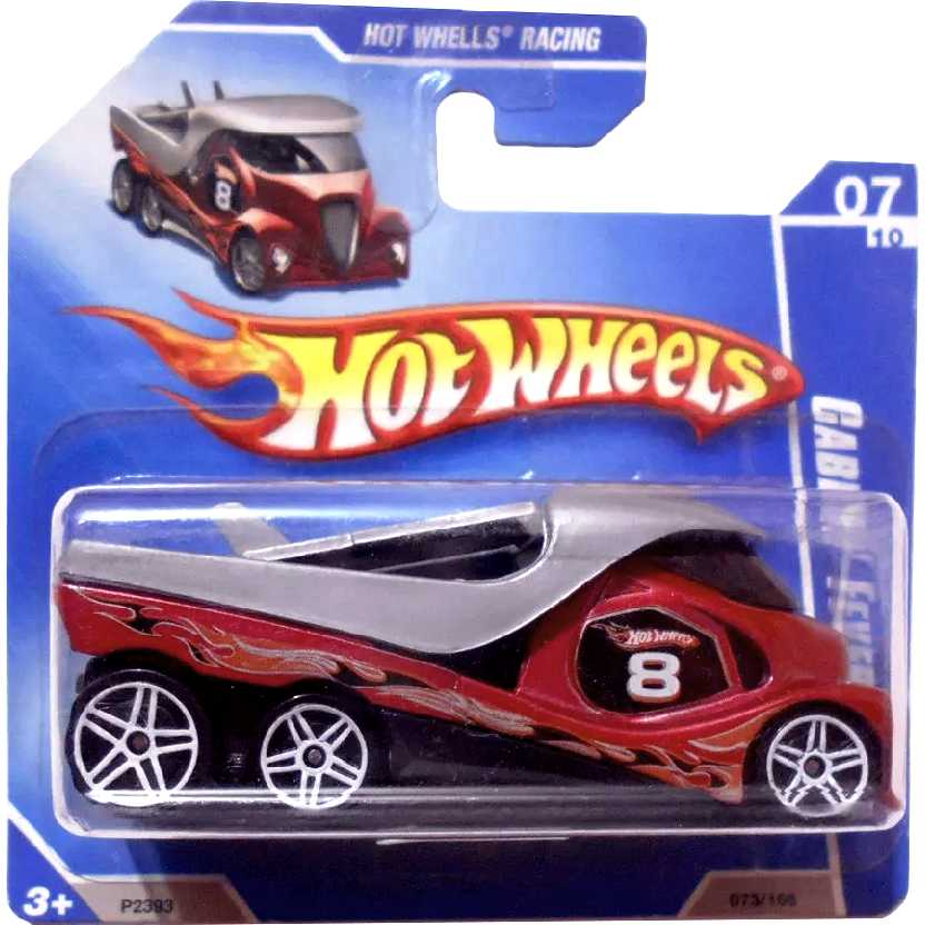 Coleção 2009 Hot Wheels Cabbin Fever azul guincho/cegonha series 073/166 P2393