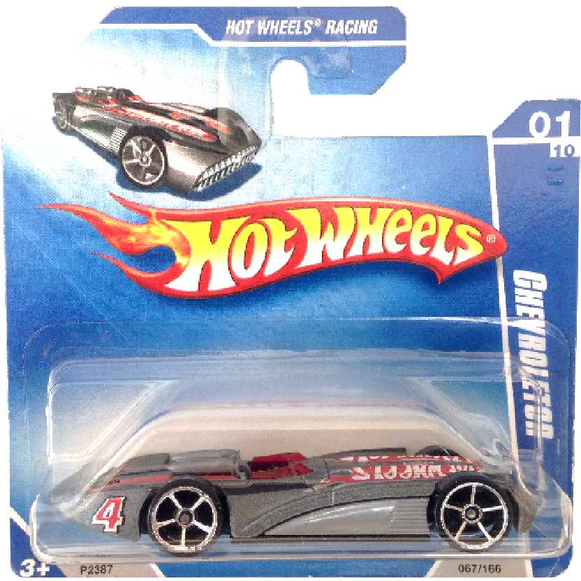 Coleção 2009 Hot Wheels Chevroletor series 01/10 067/166 P2387 escala 1/64