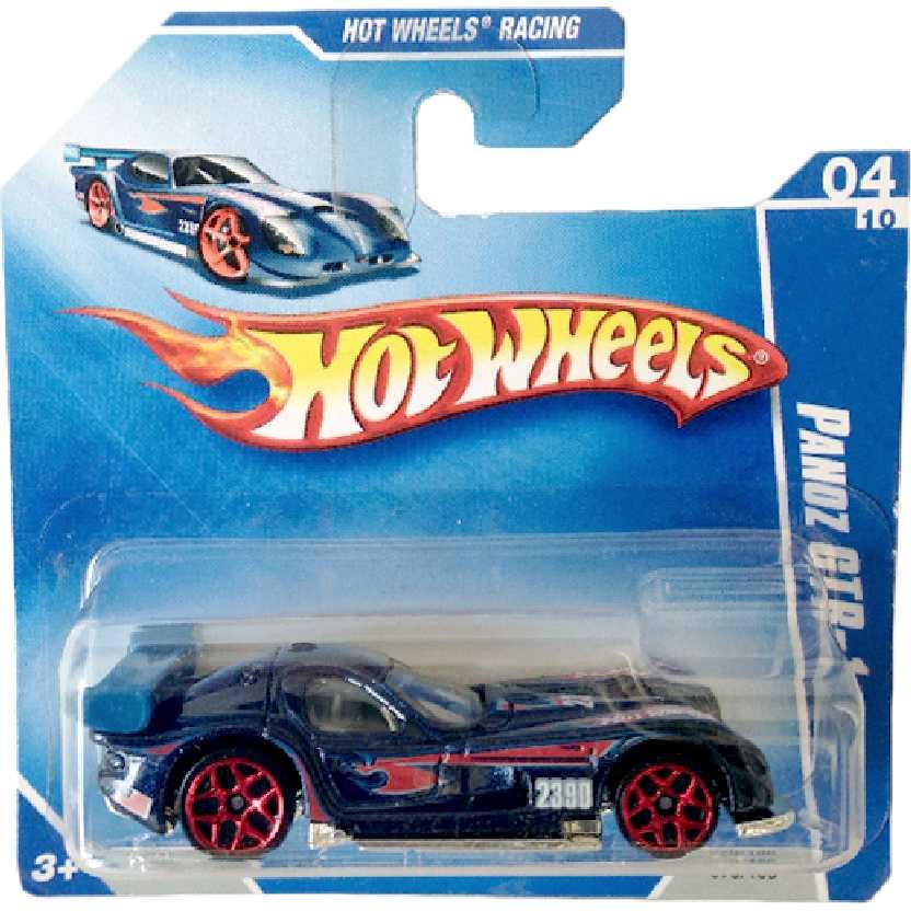 Coleção 2009 Hot Wheels Panoz GTR-1 series 04/10 070/166 P2390 escala 1/64