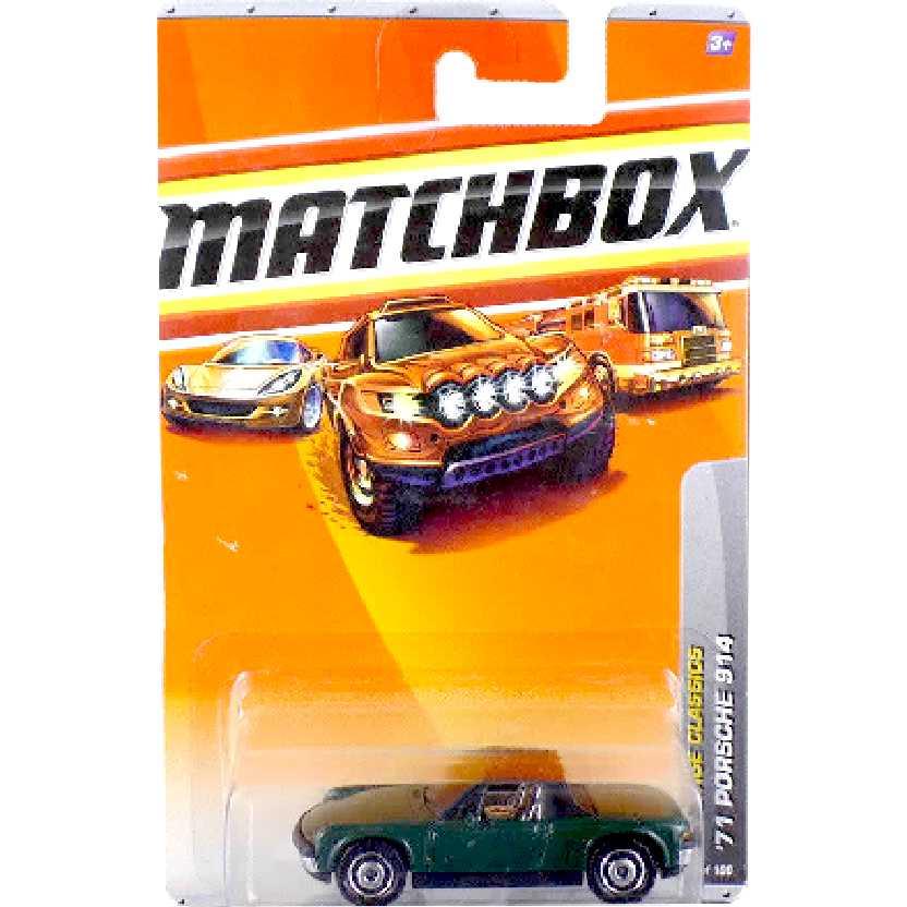 Coleção 2009 Matchbox 71 Porsche 914 series 16/100 T1535 escala 1/64 Raridade