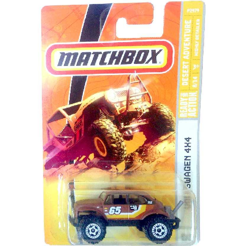 Coleção 2009 Matchbox VW Fusca Baja Volkswagen 4x4 #82 P2979 escala 1/64
