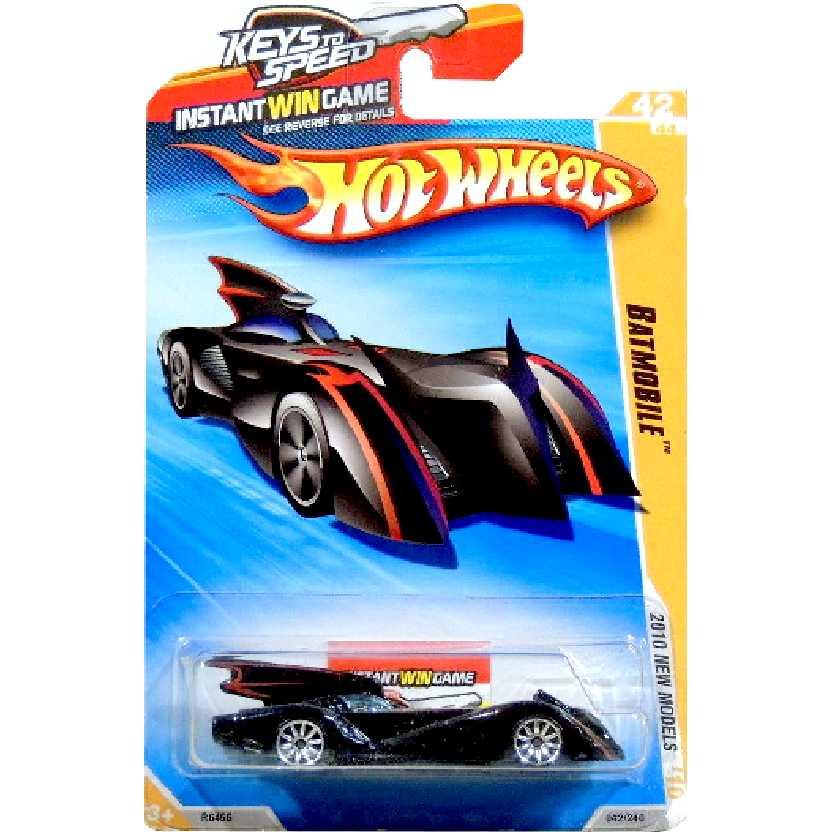 Coleção 2010 Batmobile series 42/44 042/240 R6456 escala 1/64 Batmóvel Raro