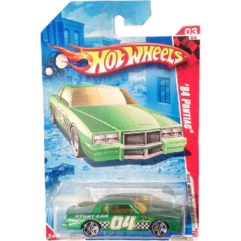 Coleção 2010 Hot Wheels 84 Pontiac series 03/04 173/214 R7604 escala 1/64