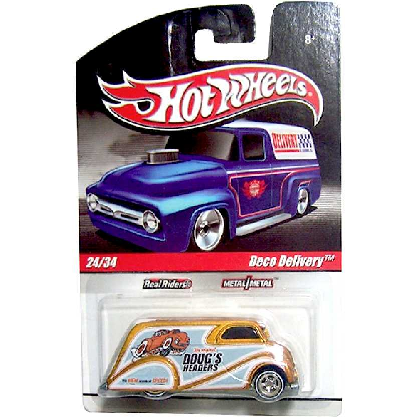 Coleção 2010 Hot Wheels Deco Delivery Dougs Headers series 24/34 R5440 escala 1/64