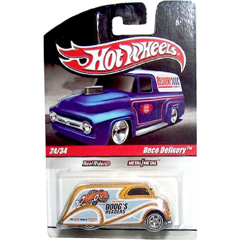 Coleção 2010 Hot Wheels Deco Delivery Dougs Headers series 24/34 R5440 escala 1/64