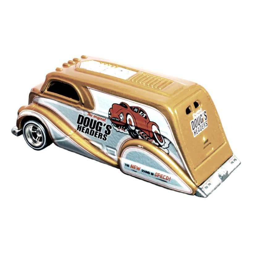Coleção 2010 Hot Wheels Deco Delivery Dougs Headers series