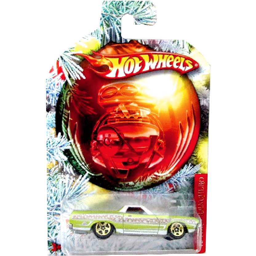 Coleção 2010 Hot Wheels Holiday Hot Rods 72 Ford Ranchero V1432 escala 1/64
