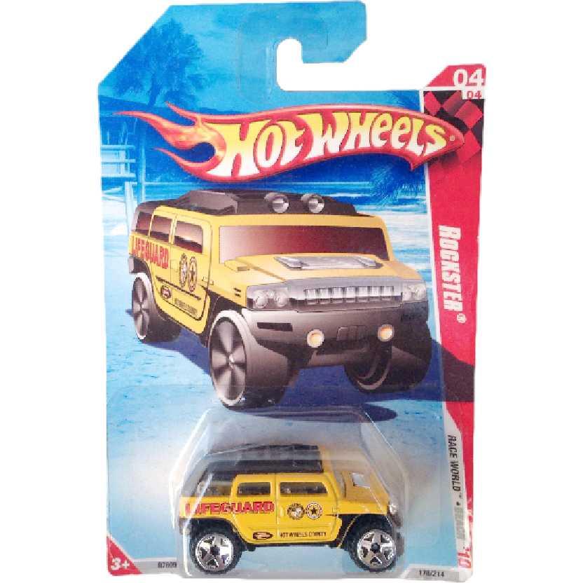 Coleção 2010 Hot Wheels Rockster series 04/04 178/214 R7609 escala 1/64