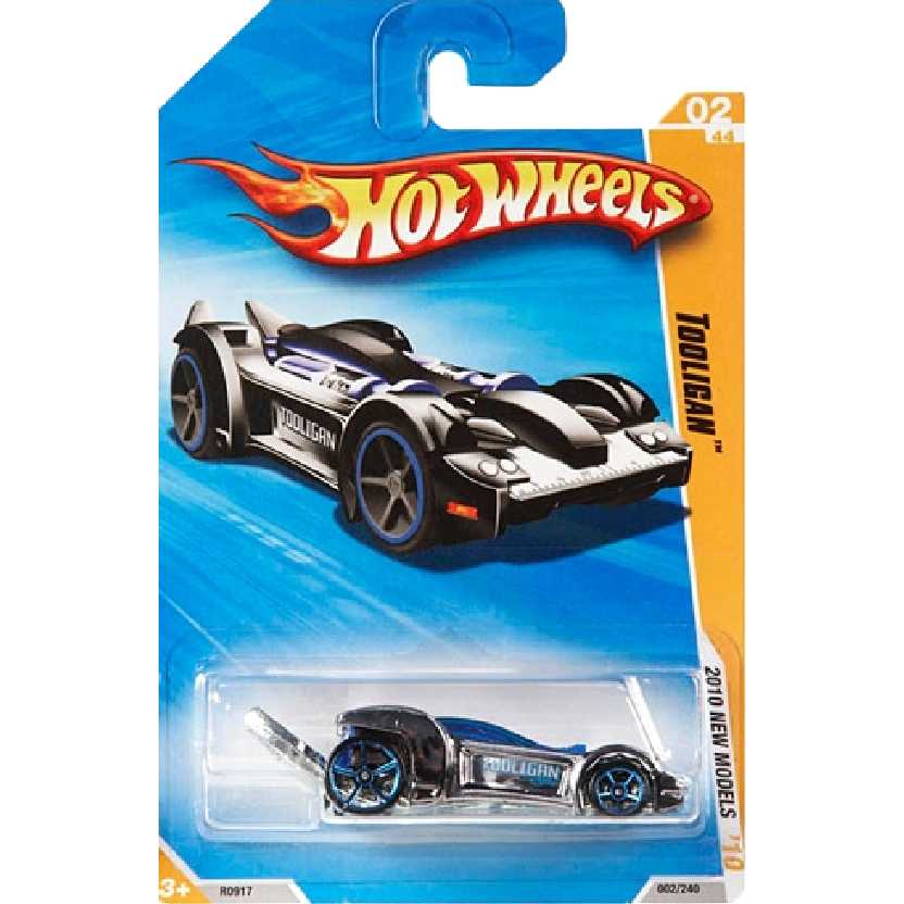 Coleção 2010 Hot Wheels Tooligan series 02/52 002/214 R0917 escala 1/64