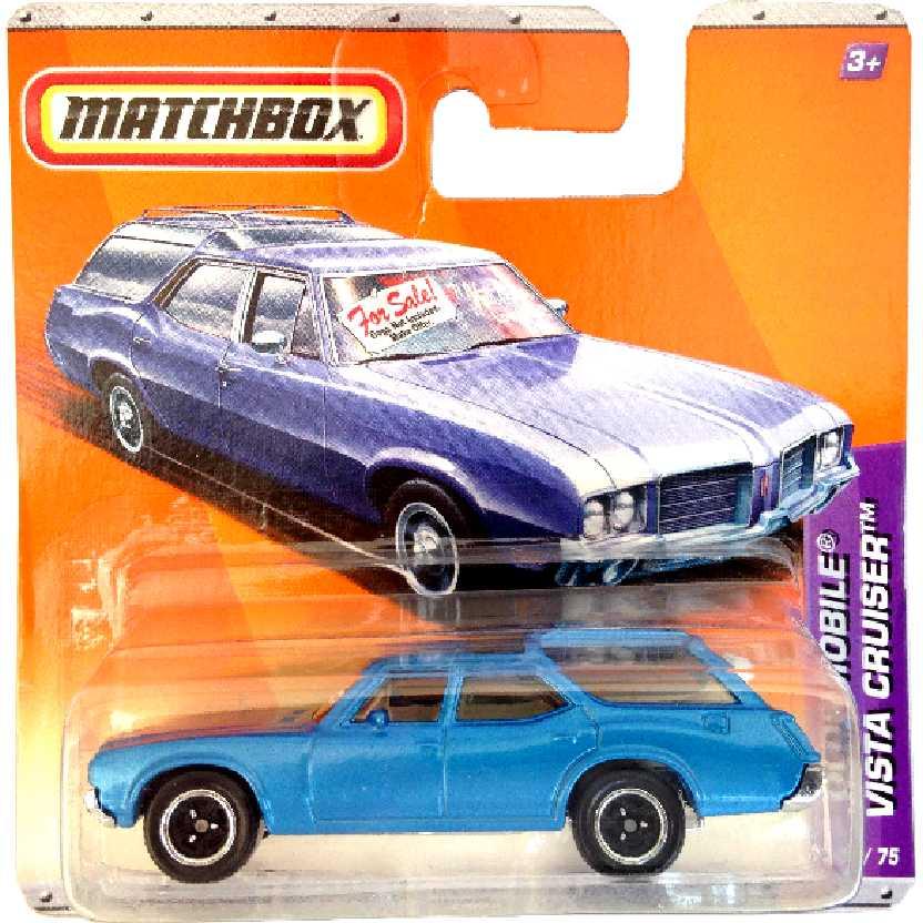 Coleção 2010 Matchbox 71 Oldsmobile Vista Cruiser series 18/75 T9287 escala 1/64