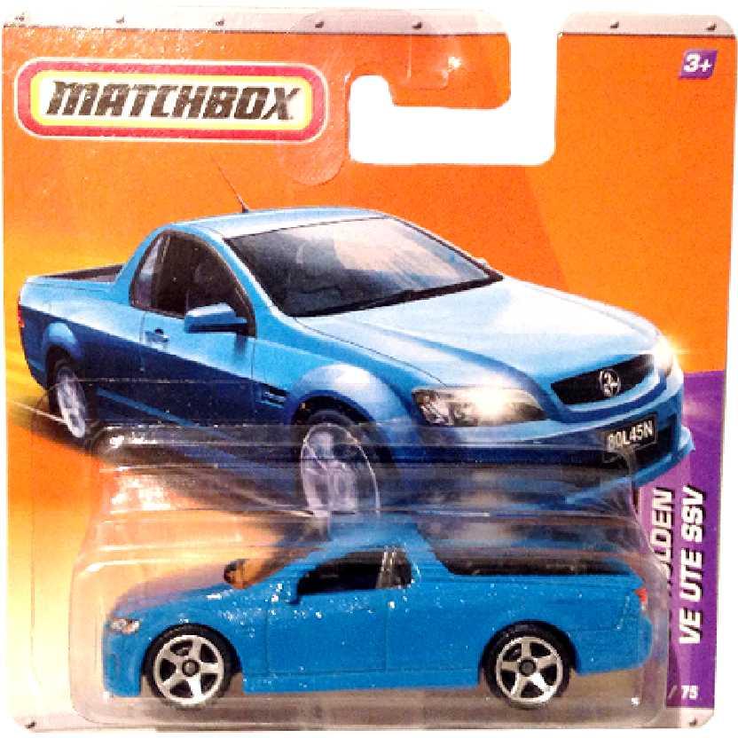 Coleção 2010 Matchbox Holden UTE SSV ( similar VW Saveiro ) 2/75 T9345 escala 1/64