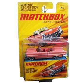 Coleção 2010 Matchbox Lesney Edition Lincoln Premiere (1957) escala 1/64