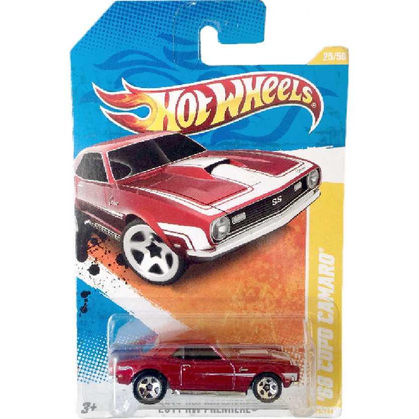 Coleção 2011 Hot Wheels 68 Copo Camaro series 25/50 25/244 T9982 escala 1/64