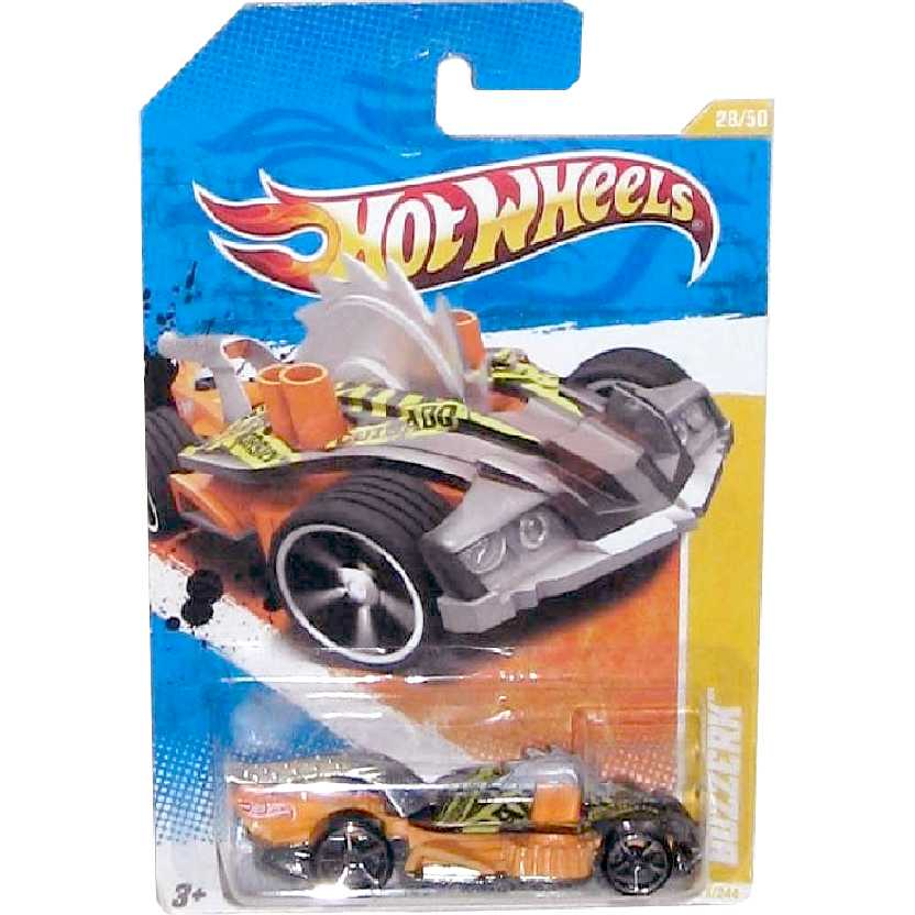 Coleção 2011 Hot Wheels Buzzerk series 28/50 28/244 T9698 escala 1/64