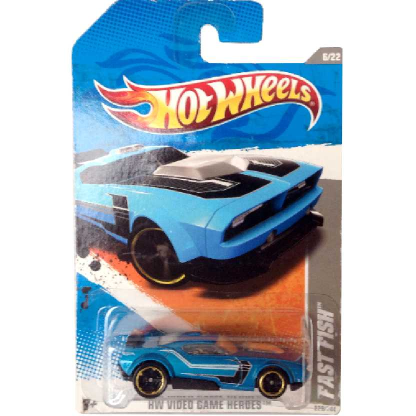 Coleção 2011 Hot Wheels Fast Fish series 6/22 228/244 escala 1/64