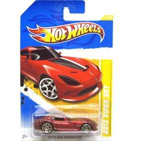 Coleção 2012 Hot Wheels 2013 Viper SRT V5299 series 11/50 11/247 escala 1/64