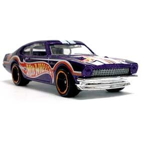 Coleção 2012 Hot Wheels 71 Maverick Grabber V5655 series 9/10 179/247 roxo