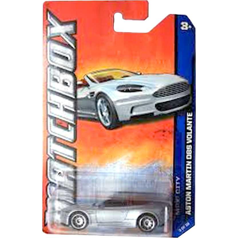 Coleção 2012 Matchbox Aston Martin DBS Volante escala 1/64 series 3 of 10 W4783