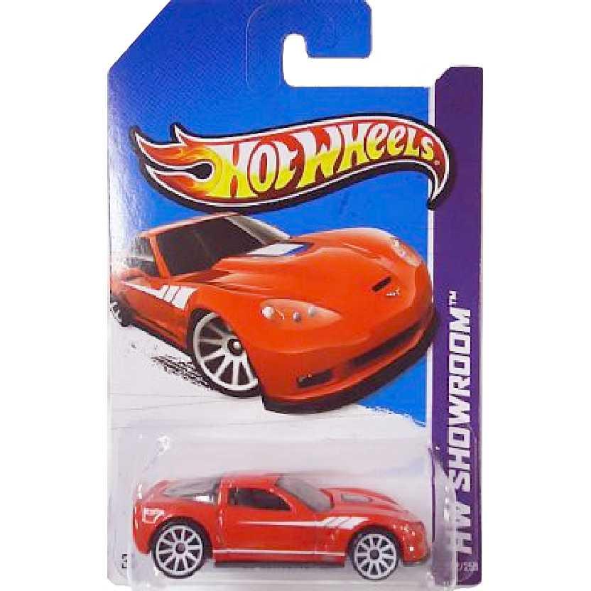 Coleção 2013 Hot Wheels 09 Corvette ZR1 X1817 serie 202/250 escala 1/64