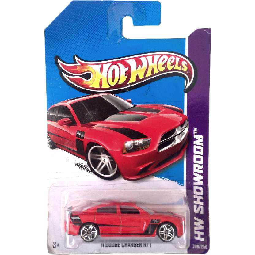 Coleção 2013 Hot Wheels 11 Dodge Charger R/T series 228/250 X1806 escala 1/64