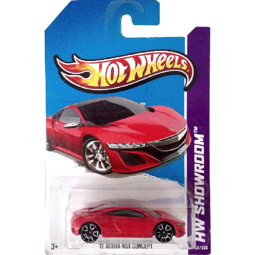 Coleção 2013 Hot Wheels 12 Acura NSX Concept series 156/250 X1955 escala 1/64