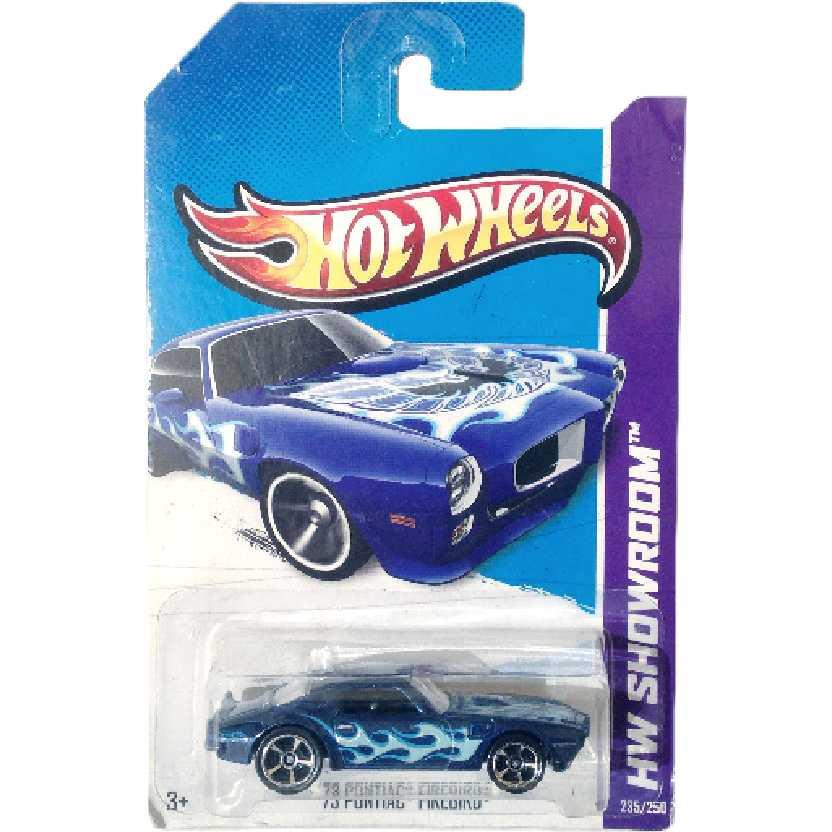 Coleção 2013 Hot Wheels 73 Pontiac series 235/250 X1851 escala 1/64