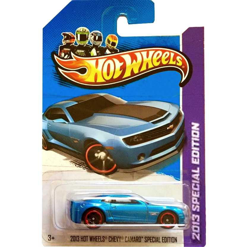 Coleção 2013 Hot Wheels Chevy / Chevrolet Camaro Special Edition BCK25 escala 1/64