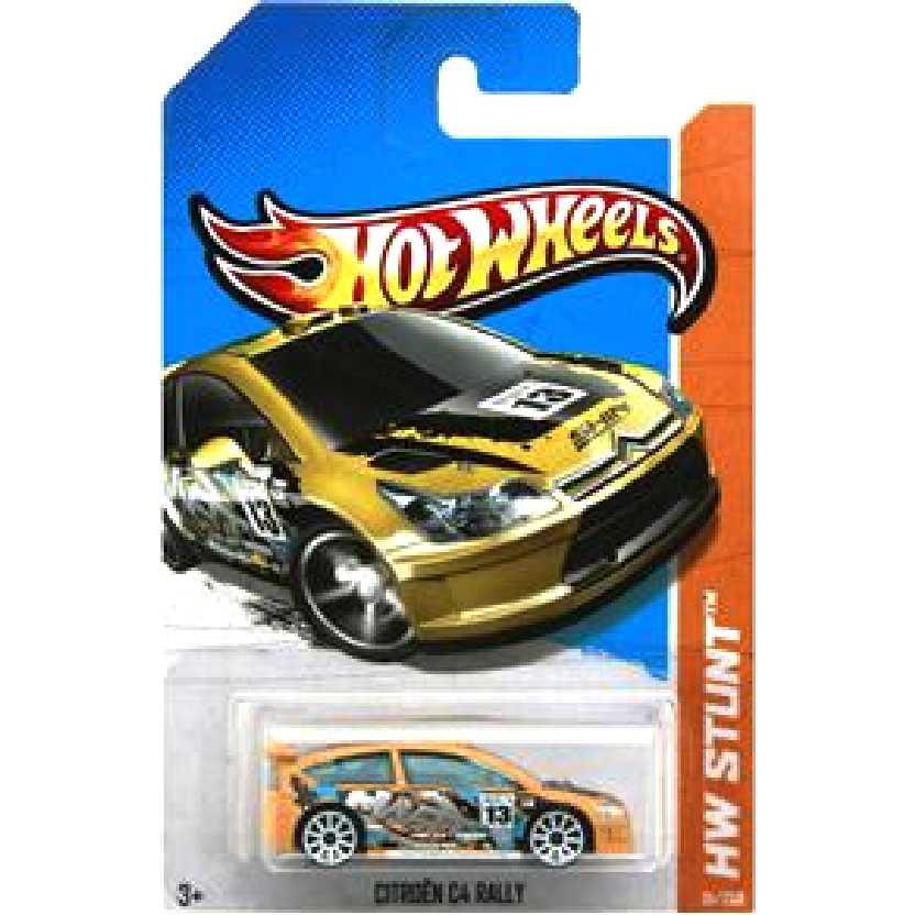 Coleção 2013 Hot Wheels Citroen C4 Rally X1731 serie 91/250 escala 1/64