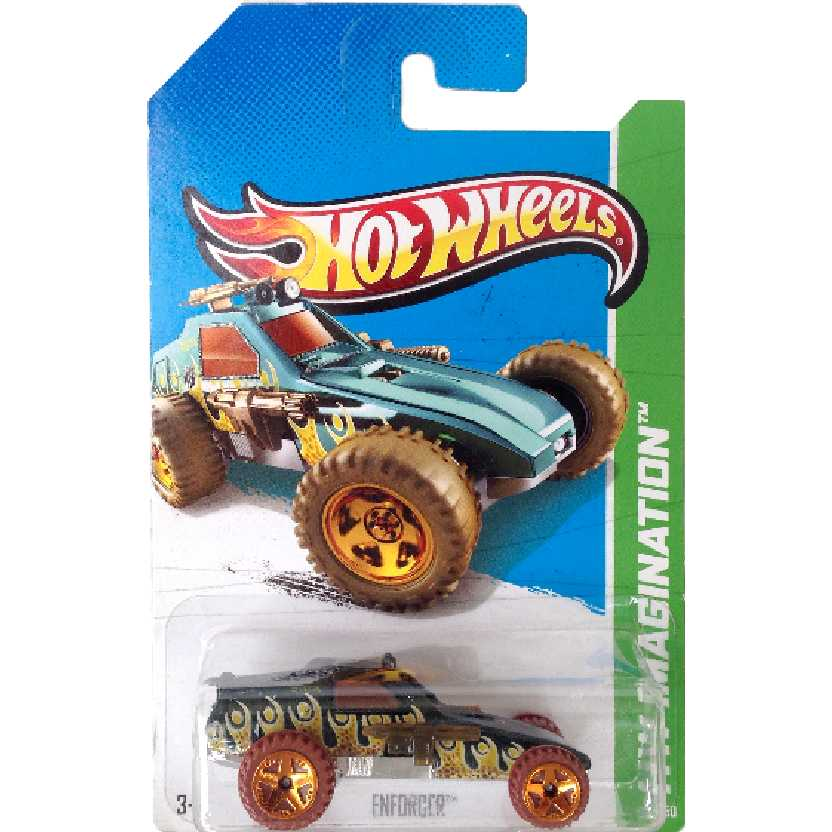 Coleção 2013 Hot Wheels Enforcer series 69/250 X1716 escala 1/64