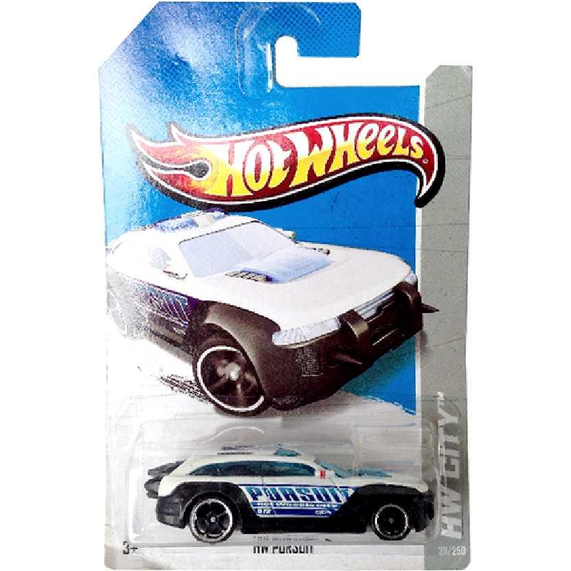 Coleção 2013 Hot Wheels HW Pursuit series 20/250 X1648 escala 1/64