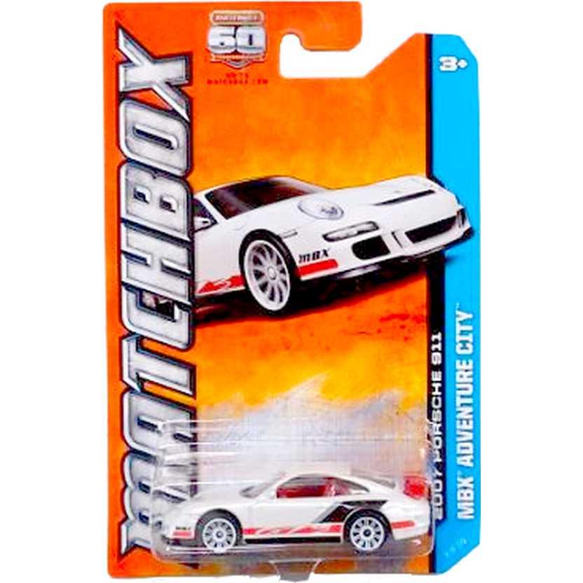 Coleção 2013 Matchbox 2007 Porsche 911 GT3 escala 1/64 8 of 120 Y0958
