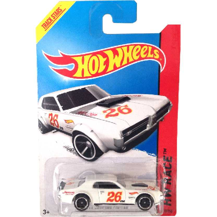 Coleção 2014 Hot Wheels 68 Mercury Cougar series 170/250 BDD08 escala 1/64