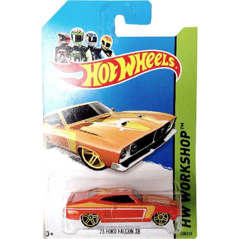 Coleção 2014 Hot Wheels 75 Ford Falcon XB series 238/250 BFF15 escala 1/64
