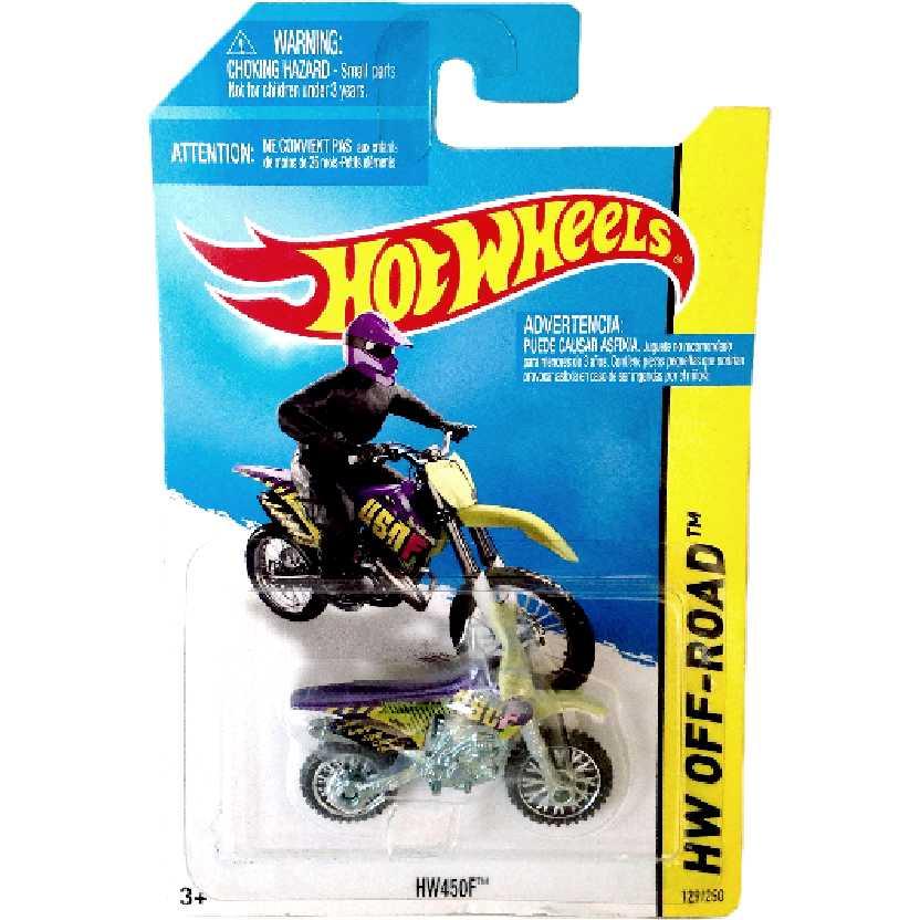 Coleção 2014 Hot Wheels HW450F series 129/250 BFF49 escala 1/64