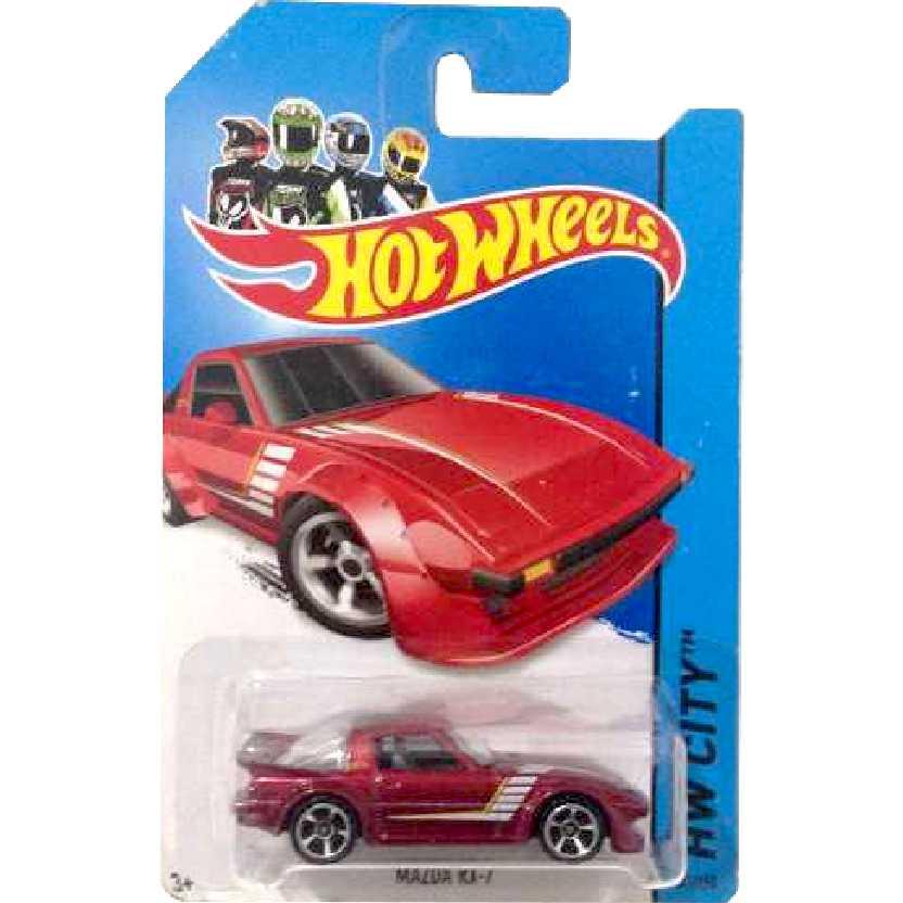 Coleção 2014 Hot Wheels Mazda RX-7 series 21/250 BFC43 escala 1/64