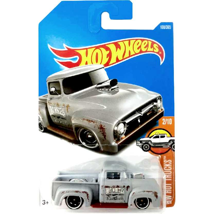 Coleção 2017 Hot Wheels Custom 56 Ford Truck Pickup series 2/10 108/365 DTX35 escala 1/64